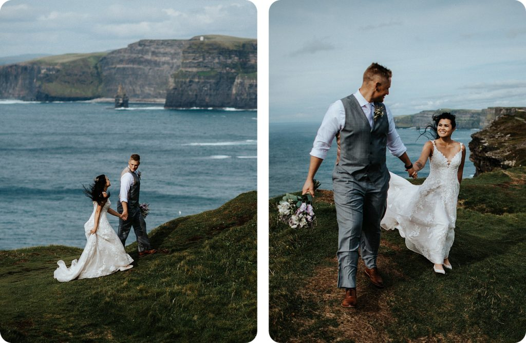 elopement cliffs of moher wedding wedding photography ireland00075