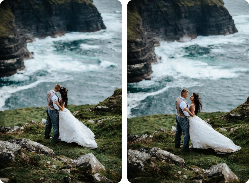 elopement cliffs of moher wedding wedding photography ireland00077