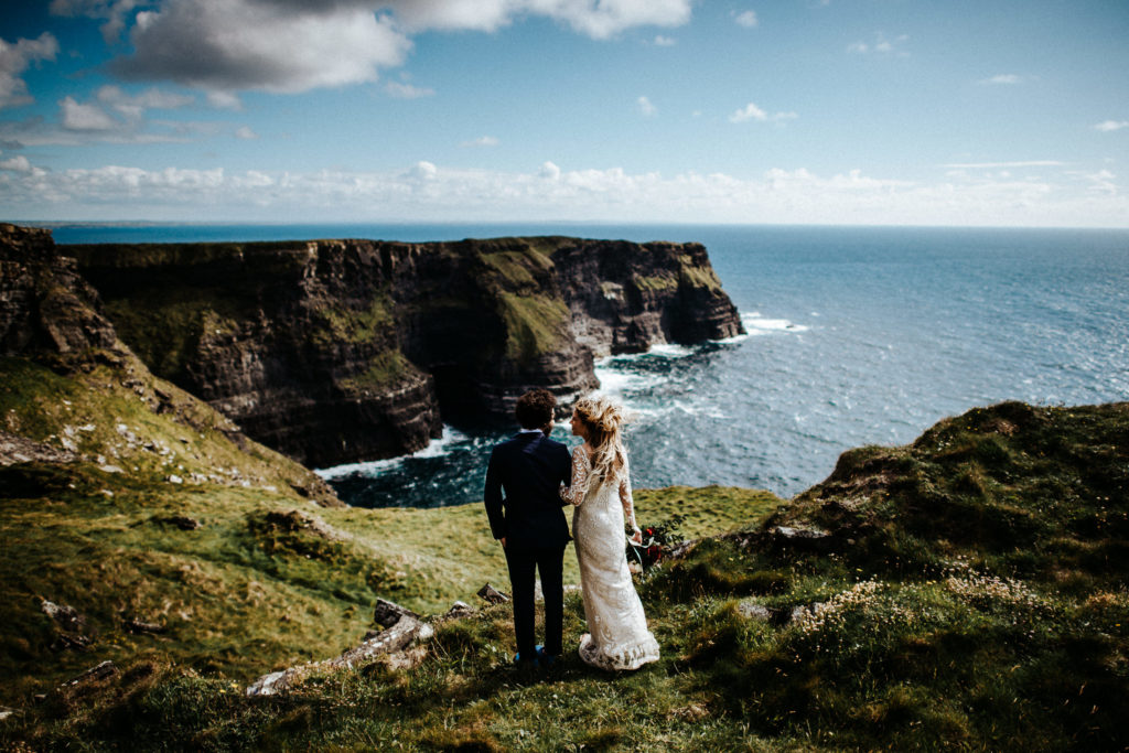 Elope to a Cliff in Ireland