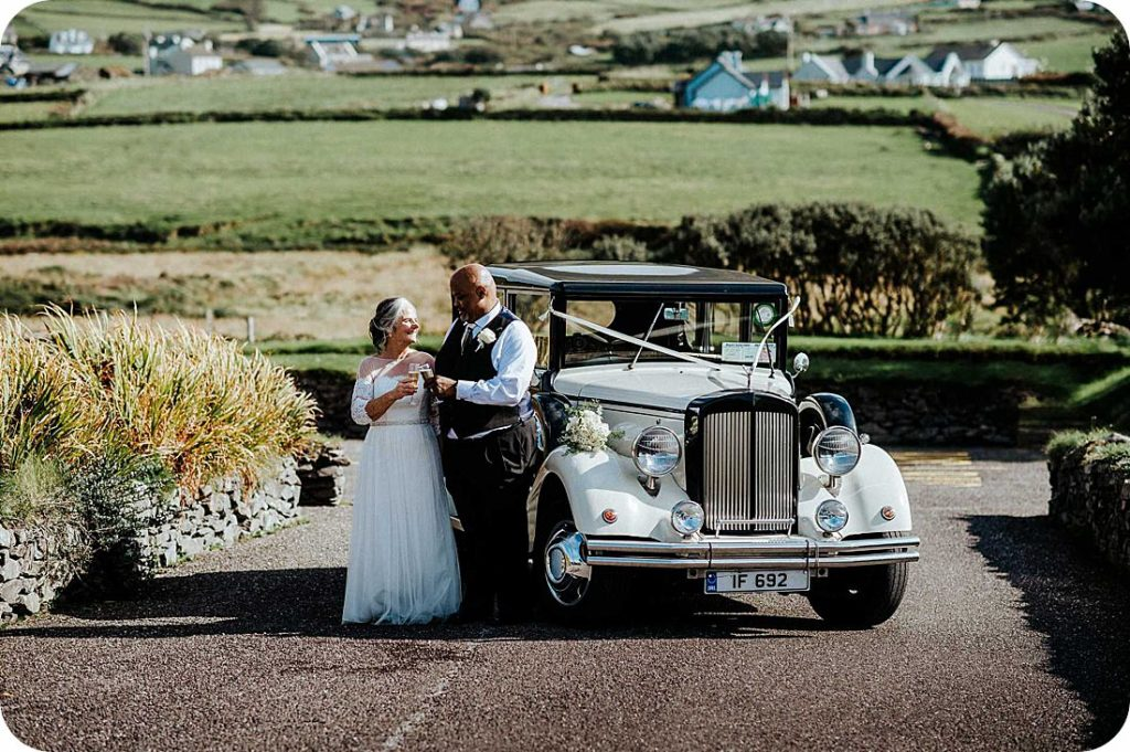 Slea Head Dingle Peninsula elopement wedding Ireland