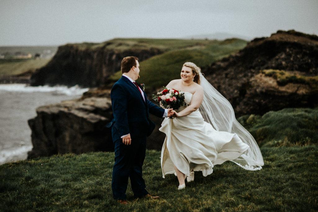 cliffs of moher wedding 1