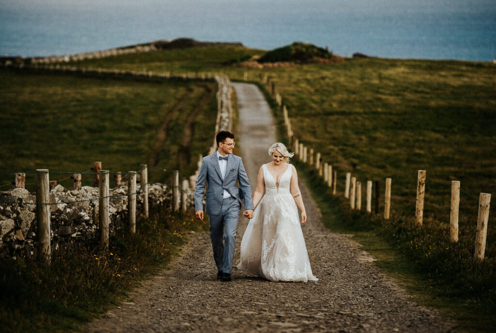 cliffs of moher wedding 1