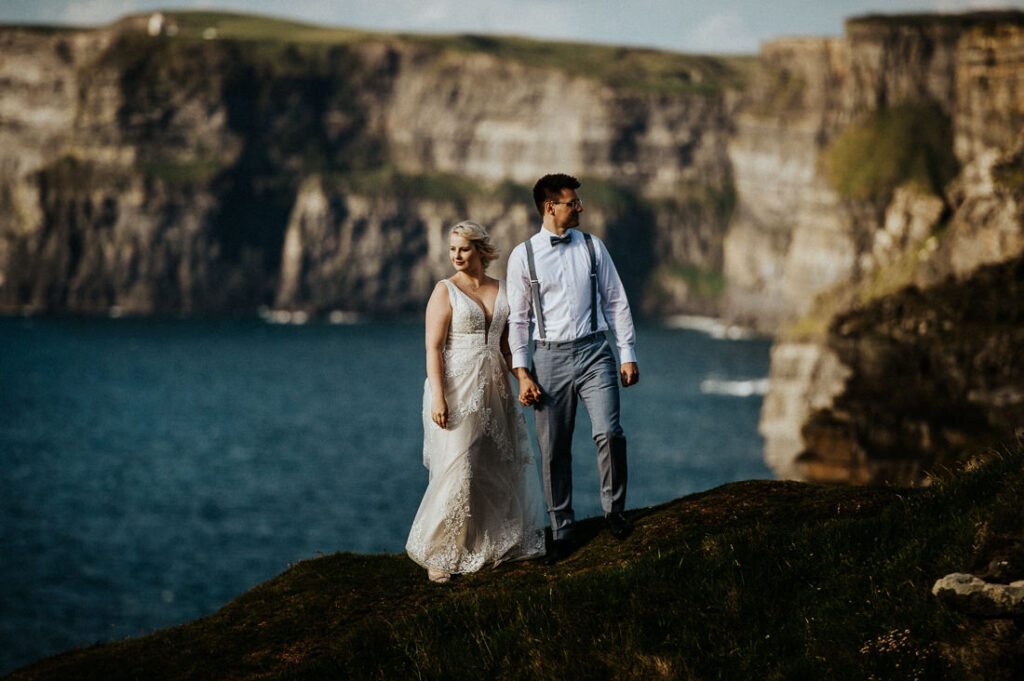 cliffs of moher wedding 16