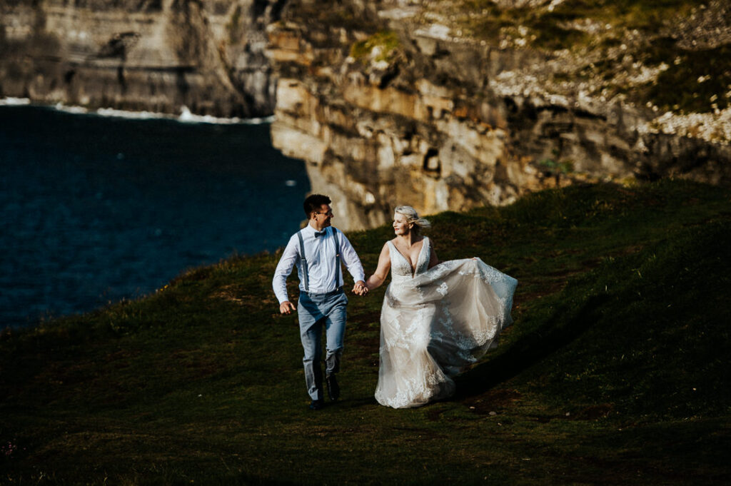 cliffs of moher wedding 18
