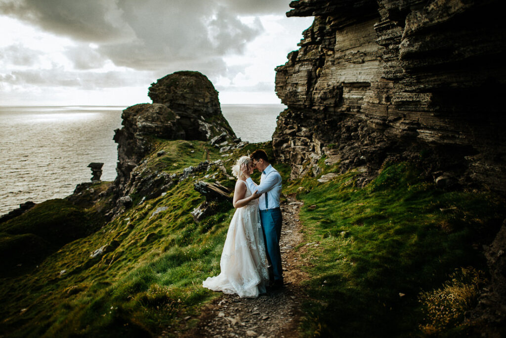 cliffs of moher wedding 20