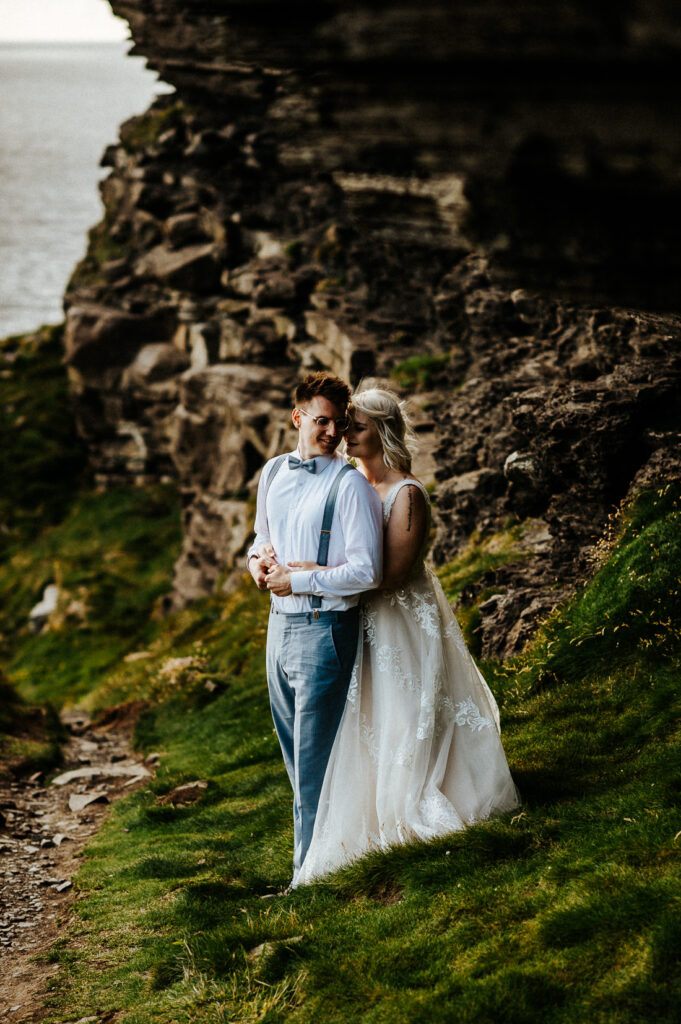 cliffs of moher wedding 21