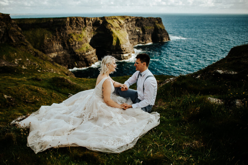 cliffs of moher wedding 23