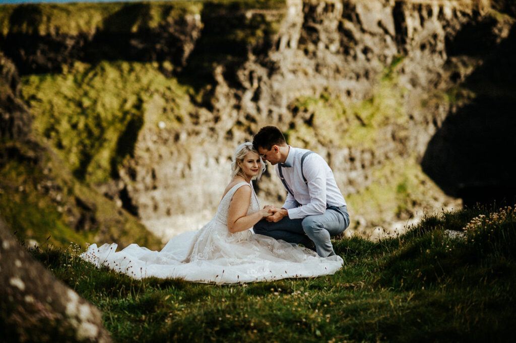 cliffs of moher wedding 24