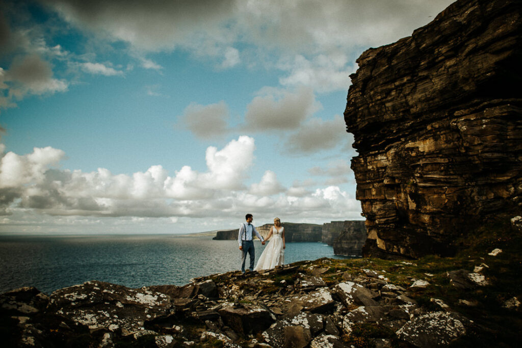 cliffs of moher wedding 25