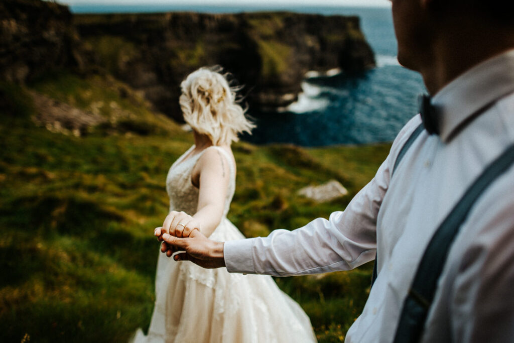 cliffs of moher wedding 26