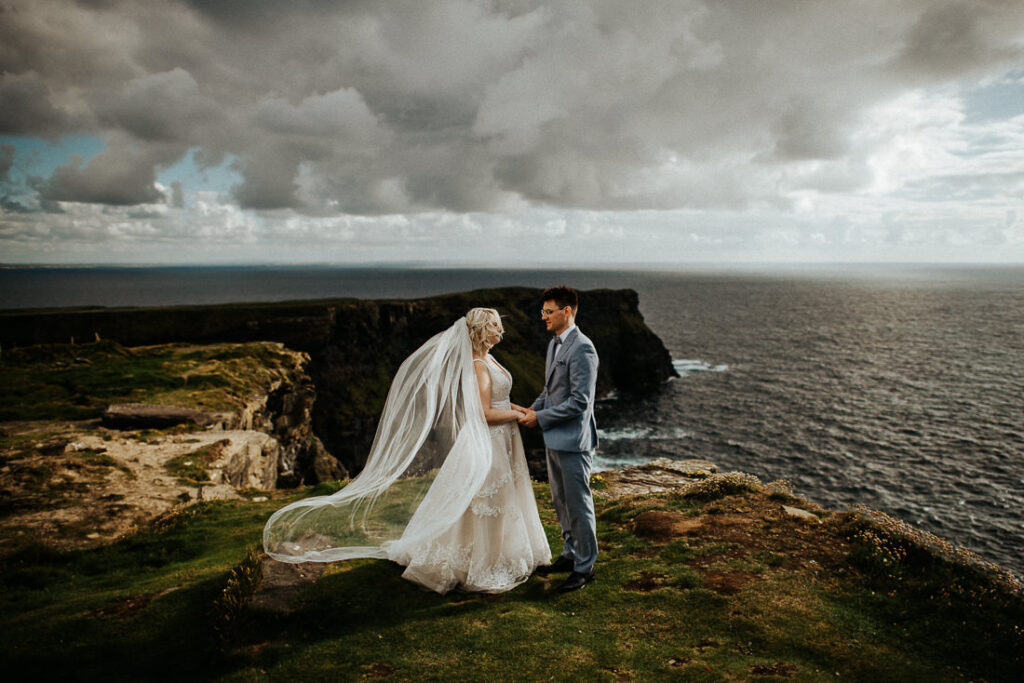 cliffs of moher wedding 3 1