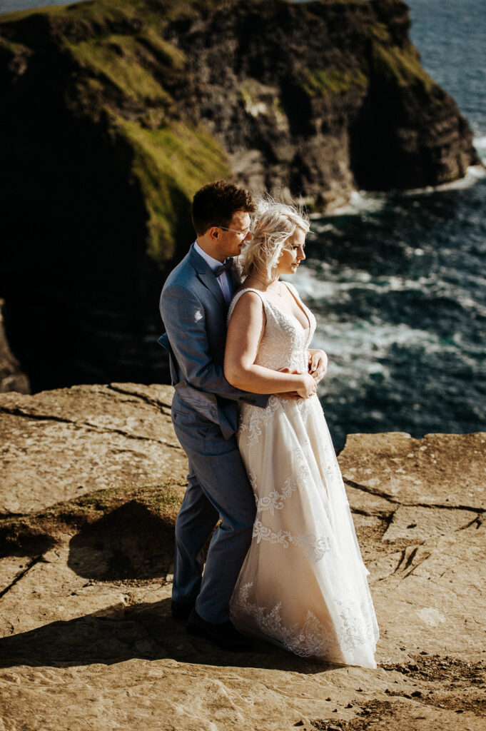 cliffs of moher wedding 8